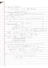 Lecture - Separable Equations