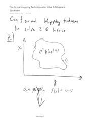 Conformal mapping Techniques to Solve 2-D Laplace Equations