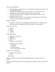 Health administration notes 2