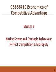 GSBS6410 Lecture Note 05 on Markets power 1 (mod)