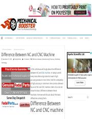 Difference Between NC and CNC Machine - Mechanical Booster.pdf