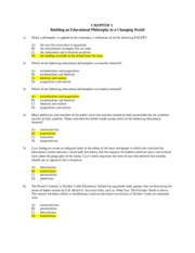 Exam 2 - Ch. 5 answers
