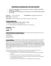 Syllabus for Introduction to Oral Communication for Fall 2012.doc