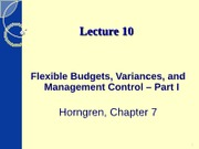 ACCT2102 - Lecture 10