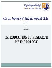 RES 500 - W01 - Introduction.pdf