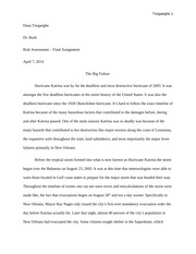 Topics For Reflective Essays Hurricane Katrina Essay  Ryan Ohearn Hurricane Katrina Essay Saturday One  Of The Worst Hurricanes Ever On Record Forming From The Atlantic Ocean Best Essay Ever also Essay On Marriage Ceremony Hurricane Katrina Essay  Ryan Ohearn Hurricane Katrina Essay  Good Topics For Definition Essay