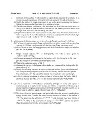 Fall 2014 II Midterm solutions