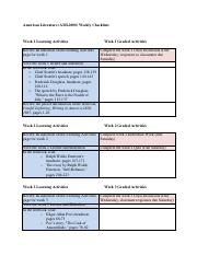 AML2000 Assignment Checklist.pdf