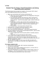 STUDENT TIPS for presentation and discussion leadership.docx