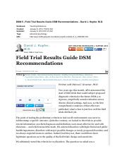 Kupfer 2012 DSM-5 Field Trial Results.pdf