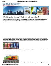 what is Global Strategy.pdf