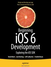 Beginning iOS 6 Development(2)