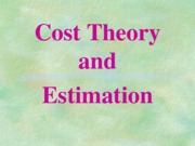 Theory of Cost_