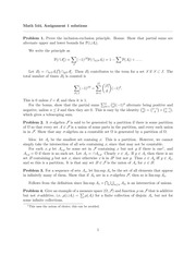 MATH 544 Fall 2014 Assignment 1 Solutions