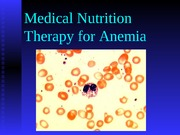 anemia mnt