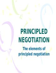 ADR 7 - Principled Negotiation.pptx