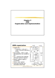 SOCA_5_ARM_Organization and Implementation