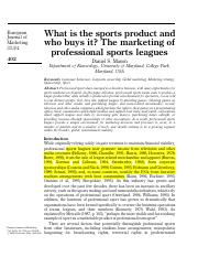 What is the Sports Product.pdf