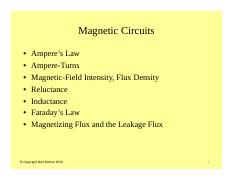 #8 Magnetic Circuits Basics.pdf