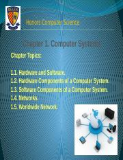 Chapter 1. Computer Systems