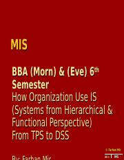MIS BBA 5th 2014 Lec 456.ppt