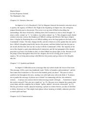 The Handmaid's Tale Literary Response Journal - Shayla Menter.pdf