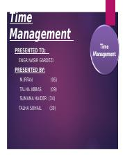 8 Time Management-1.pptx