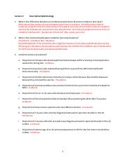In Class Exercises - Lecture 2 - Descriptive Epidemiology - ANSWERS.pdf