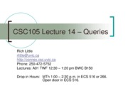 Lect14_Queries