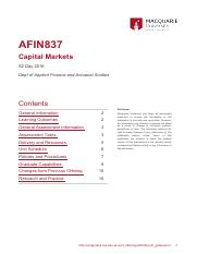 Unit_Guide_AFIN837_2016_S2 Day