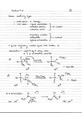 CHEM 40 Spring 2014 Notes on Lecture 27