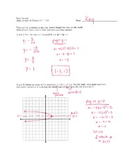 Math 125 Quiz 10 Key On Intermediate Algebra