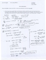 MAP 2302 Exam 2 Solutions
