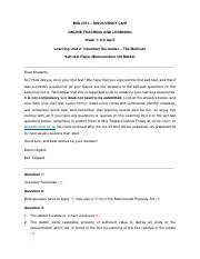 MRL3701 Online Teaching LU2 _ Self-test Questions Memo.pdf
