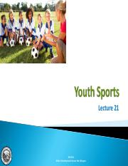 Lecture 21 - Youth Sports.pdf