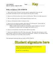 QUIZ-01-F15-Quiz Policy-KEY