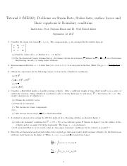 Tutorial Sheet on Governing Equations (ME332).pdf