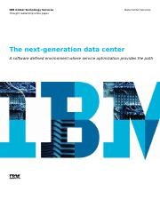 Next gen data centre IBM.PDF