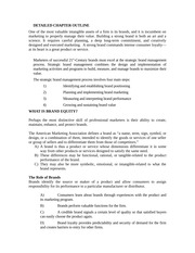 CHAPTER 9 MARKETING MANAGEMENT TEACHING NOTES