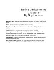 Define the key terms.docx