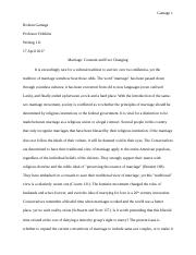 Marriage Essay3.doc