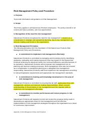 Appendix A- Risk Management Policy and Procedure V1.0 07-07-2014.docx