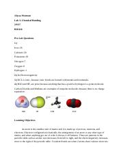 Chemical Bonding Fundamentals