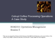 class 4 case Colruyt_Coffee_Processing