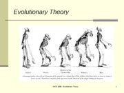 Lecture 10 EvolutionaryTheory