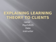 psy635learningtheory