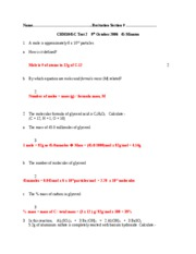 CHM1045C Test 2 Version 2 answers