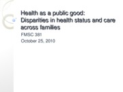 25 Health as public good fall 10 Bb.ppt