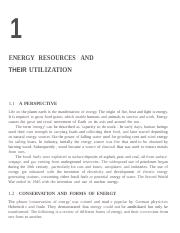 chapter 1ENERGY RESOURCES AND THEIR UTILISATION.docx
