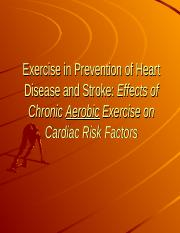 Exercise in Prevention of Heart Disease and Stroke.ppt